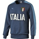 FIGC ITALIA アズーリ クルーネック【PUMA】プーマ●サッカースウェットトレーナー(750424-01)*60