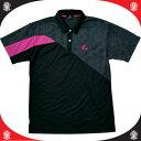 樂天商城 - Uni ゲームシャツ ブラック【LUCENT】ルーセントタッキュウゲームシャツ(XLP8199P)*20