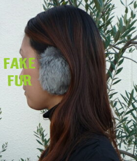 This is the yew Lux faux fur QVC-hanamaru market by introducing ♪ just put in the ears earmuffs ( non-frame ear )! Disturb the hair style from frameless ◎ head not painful!