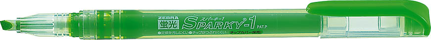 Is green fluorescent Sparky 1 ◆ ◆