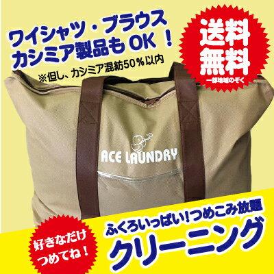 【送料無料】袋いっぱい!クリーニング 大人気レビュー300件突破!袋いっぱいクリーニング話題のオーガニッククリーニングをお試し下さい