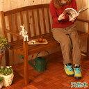 ベンチ【送料無料】 天然木 ガーデンベンチ 長椅子 長イス ベンチチェア ガーデンチェア ガーデンチェアー 3人用 三人用 木製 ベランダ テラス シンプル 背...