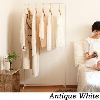 鐵衣架機架時尚外套衣架鐵衣架存儲存儲苗條存儲衣架孩子鐵生活緊湊簡單完成的衣架白色白色洗衣室乾燥能量空間壁櫥製成的鋼在日本幼稚園的夾具