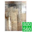 『アートパネル T30 Gallery Brown and Beige Abstract』 壁掛けインテリア アートパネル 壁掛けアート キャンバスアート 抽象画 絵画 T30 Gallery Brown and Beige Abstract Art Painting モダン おしゃれ 長方形 壁掛け式 縦型 ギフト 贈り物 プレゼント