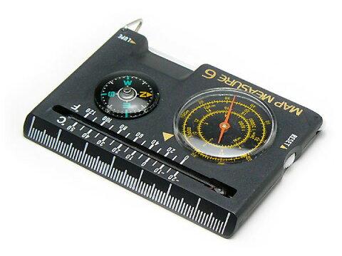 コンパス 方位磁石 方位磁針 G-MAP6 日本製 クリアー光学
