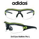 Adidas (アディダス) サングラス Evil Eye Halfrim Pro L イーブルアイ ハーフリムプロ A181-01-6091 クリア/グレー(調光レンズ) レンズ 人気モデル UVカット アウトドア ドライブ スポーツ