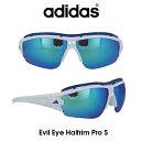 ショッピングロードバイク Adidas (アディダス) サングラス Evil Eye Halfrim Pro S イーブルアイ ハーフリムプロ A198-01-6089 グレー/ブルーミラー レンズ 人気モデル UVカット アウトドア ドライブ スポーツ