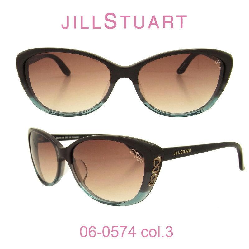 【国内正規品】ジルスチュアート サングラスJILL STUART(ジルスチュアート) 06-0574 カラー3 人気モデル UVカット キュート おしゃれ フェミニン