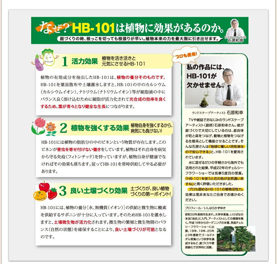 野菜作りや園芸に!プロご用達【HB-101】1...の紹介画像2