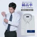 ワイシャツ メンズ 長袖 形態安定 標準型 WITTYWALK レギュラーカラー 防汚加工 グレーストライプ [P12WWR203]