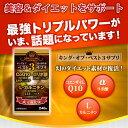 【4個で送料無料】キング・オブ・ベスト3サプリメント 240粒CoQ10・αリポ酸・L-カルニチン キングオブベスト3 サプリ