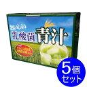 【5個セット】おいしい乳酸菌青汁 ビフィズス菌と13種