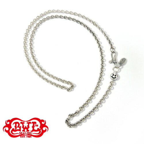 【BWL】Bill Wall Leather ビルウォールレザー【送料無料】【あす楽】/Round Chain Necklace w/ Tiny Charm and Oval BWL Tag 21