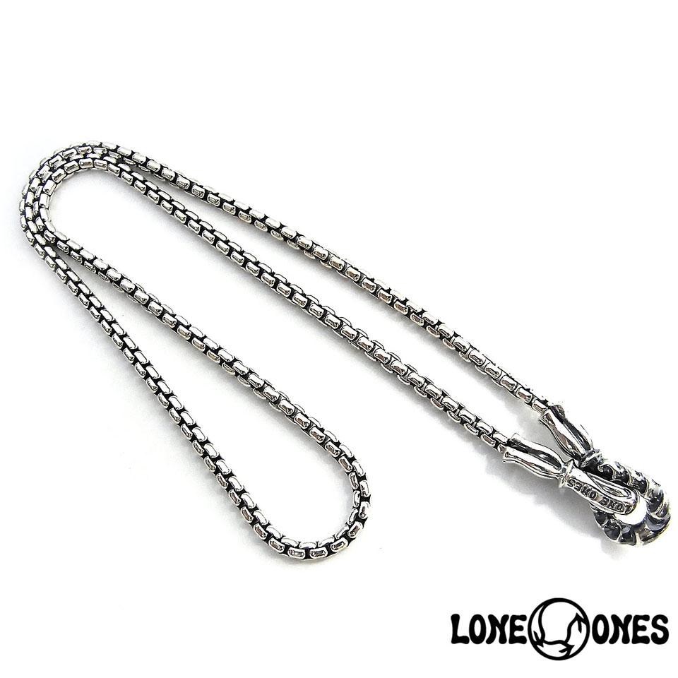 【LONE ONES】ロンワンズMF Hooks: Large - 2.6mm Box Chain MFフック:ラージ-2.6mmボックスチェーン/シルバーチェーン