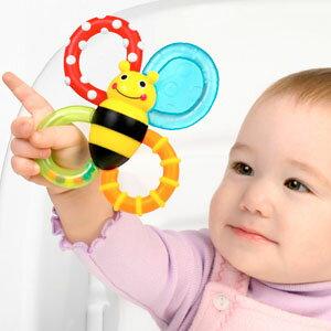 サッシー バンブルバイツ おしゃぶり おもちゃ