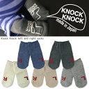 460円→360円Knock Knock Left and Right Socks ノックノック ソックス LR 靴下 日本製【タイツ/スパッツ/靴下/セット/...