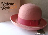 ◆VivienneWestwood◆ヴィヴィアンウエストウッド★FeltBowlerHat限定☆フエルト・ボーラーハット(ピンク)【送料無料】【あす楽対応】【YDKG-k】【W3】