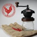 【送料無料】Camano Coffee Mill カマノコーヒーミル red rooster trading company 手動 コーヒー ミル ハンドメイド...