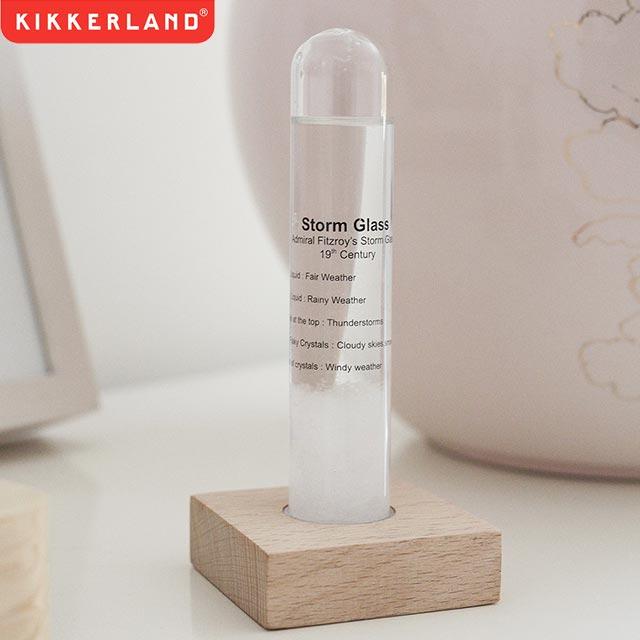 KIKKERLAND キッカーランド Storm Glass ストームグラス 結晶 ガラス オブジェ 【あす楽対応_東海】