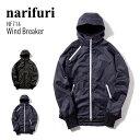 【送料無料】narifuri ナリフリ Wind breaker ウインドブレーカー nari/furi ウィンドブレーカー アウター 自転車 NF714 ブラック ネイビー ホワイト 【あす楽対応_東海】