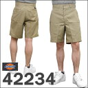 "8 three colors of Dickies( dickies) ""RELAXED FIT SHORTPANT8 inch relaxation fitting Chino short pants / half underwear development is khaki"