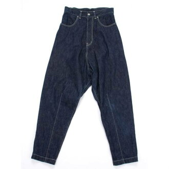 Wise Y's denim sarouel pants blue 1