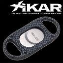 【送料無料】XIKAR(ジカー) シガーカッター ダブルブレード カーボンーパターン [ギロチン式] [大口径対応]