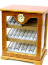 キャビネット式ヒュミドール HL201 (33〜39本用) 湿度計・加湿器付き 【送料無料】 [お買い得セール]