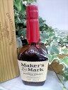 メーカーズマーク バーボンウイスキー 45% 750ml シガーと一緒に楽しめます♪