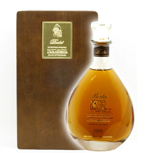 (送料無料)グラッパパオロ・ベルタ700ml/43%(販売数限定商品・洋酒)