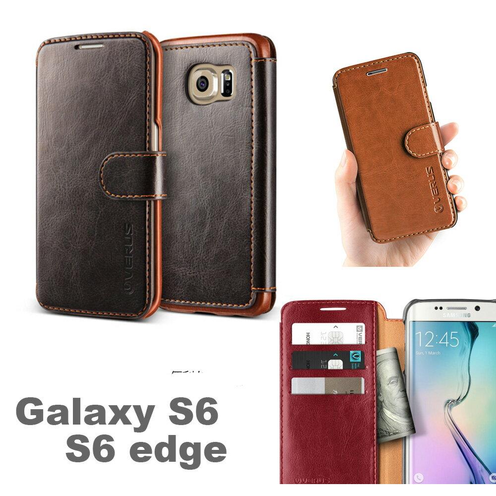 VERUS Dandy Layered【送料無料】【Galaxy S6 Edge ケース 手帳型】galaxys6 手帳 カバー フラップ ギャラクシー