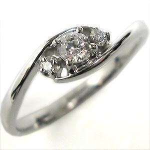 【送料無料】18金・婚約指輪・ダイヤモンド・リング(指輪)・エンゲージリング【RCP】10P06Aug16 ダイヤモンド 婚約指輪 18金 エンゲージリング(指輪)
