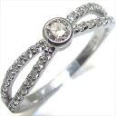 4月誕生石・ダイヤモンド・エンゲージリング・一粒・K10・婚約指輪