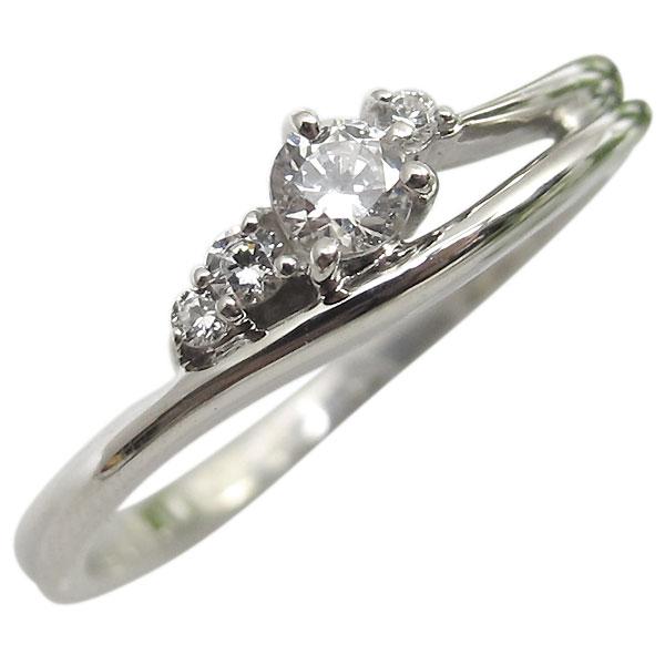 【送料無料】K10・ダイヤモンドエンゲージリング・一粒・シンプル・10金・ダイアモンド・婚約指輪【RCP】10P06Aug16 婚約指輪 K10 シンプル エンゲージリング ダイヤモンド 10金