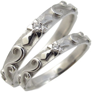 【送料無料】プラチナ・ペアリング・一粒・ダイヤモンド・結婚指輪・マリッジリング【RCP】10P06Aug16 ダイヤモンド ペアリング プラチナ マリッジリング【?浅い】
