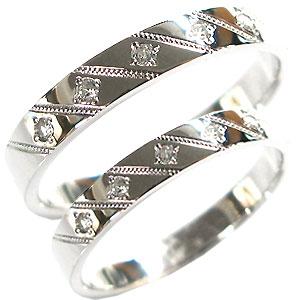 【送料無料】結婚指輪・プラチナ・ダイヤモンド・ペアリング・マリッジリング【RCP】10P06Aug16 マリッジリング 結婚指輪 ダイヤモンド pt900 リング