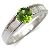 【】ペリドット・リング・一粒・k10・ペリドットリング・指輪【楽ギフ包装】【RCP】10P01Nov14