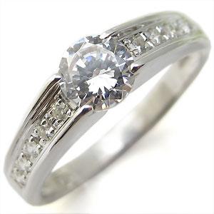 【送料無料】ダイヤモンド・エンゲージリング・10金・大粒・リング・婚約指輪【RCP】10P06Aug16 エンゲージリング ダイヤモンド 10金 一粒 婚約指輪