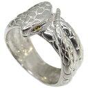 スネーク・リング・シトリン・10金・ヘビ・蛇・指輪