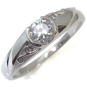 【送料無料】ダイヤモンド・リング・18金・唐草・アラベスク・婚約指輪・エンゲージリング・指輪【RCP】10P06Aug16 婚約指輪 エンゲージリング 唐草 アラベスク ダイヤモンド 18金