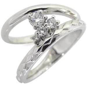 【送料無料】エンゲージリング・ダイヤモンド・婚約指輪・K18・一粒【RCP】10P06Aug16 エンゲージリング ダイヤモンド 婚約指輪 4月誕生石 K18 一粒