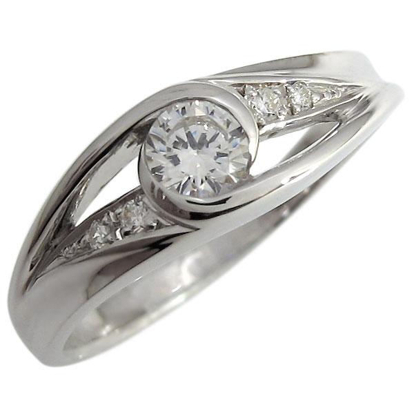 【送料無料】婚約指輪・エンゲージリング・指輪・ダイヤモンド・リング・一粒・18金・リング【RCP】10P06Aug16 婚約指輪 指輪 エンゲージリング ダイヤモンド リング 18金