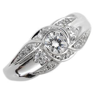 【送料無料】婚約指輪・一粒・ダイヤモンド・リング・エンゲージリング・18金【RCP】10P06Aug16 婚約指輪 一粒 ダイヤモンド リング エンゲージリング 18金