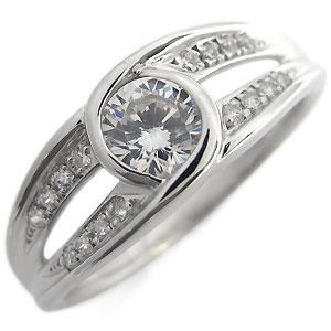 【送料無料】エンゲージリング・大粒・リング・ダイヤモンド・0.5カラット・婚約指輪・指輪・4月誕生石・18金・リング【RCP】10P06Aug16 エンゲージリング  大粒 リング ダイヤモンド 0.5カラット 婚約指輪 指輪4 月誕生石 18金 リング