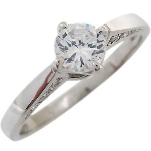 【送料無料】婚約指輪 鑑定書付き ダイヤモンド リング K18 エンゲージリング ダイヤモンドリング【RCP】10P06Aug16 エンゲージリング ダイヤモンドリング 婚約指輪 鑑定書付き ダイヤモンド リング K18