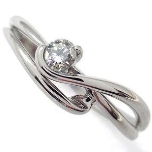 【送料無料】ダイヤモンド エンゲージリング ダイヤモンド シンプル エレガント 婚約指輪 K18【RCP】10P06Aug16 ダイヤモンド エンゲージリング ダイヤモンド シンプル エレガント 婚約指輪 K18