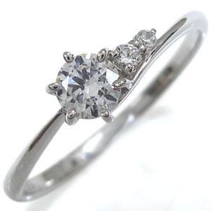 【送料無料】ダイヤモンドリング プレゼント 一粒 K18 シンプル 指輪【RCP】10P06Aug16 ダイヤモンドリング 一粒 指輪 シンプル