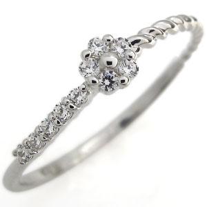 【送料無料】プラチナ・ダイヤモンドリング・エンゲージ・指輪【RCP】10P06Aug16 プラチナ ダイヤモンドリング 結婚10周年 フラワー