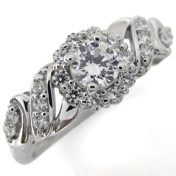 【送料無料】プラチナ リング ダイヤモンドリング VVSクラス エンゲージ【RCP】10P06Aug16 プラチナ リング VVSクラス 婚約指輪 ダイヤモンドリング