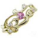 珠宝, 饰品(女士用) - 唐草 指輪 アラベスク ピンクサファイアリング K18